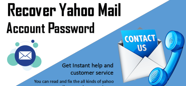 How Can I Recover Yahoo Mail Password